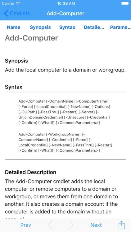 iPowerShell V.5 screenshot-4