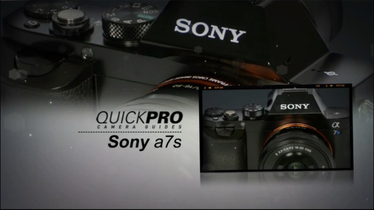 QuickPro for Sony a7s