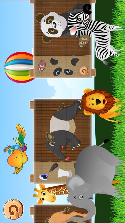 Animal Puzzles Games: Kids & Toddlers free puzzle screenshot-4