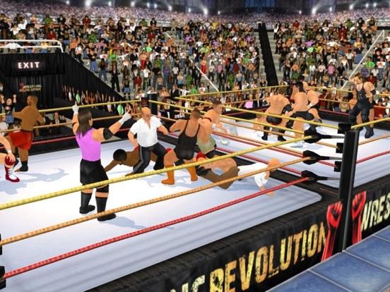 Wrestling Revolution 3D на iPad