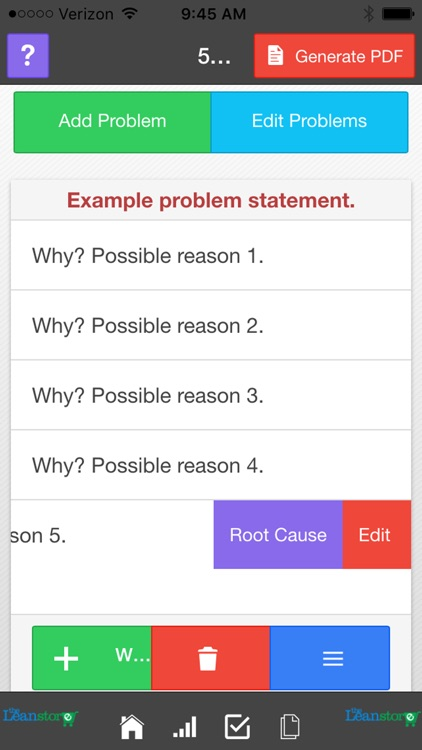 Lean Five Whys Analysis