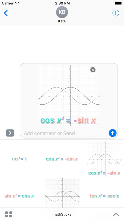 Calculus Sticker screenshot-4