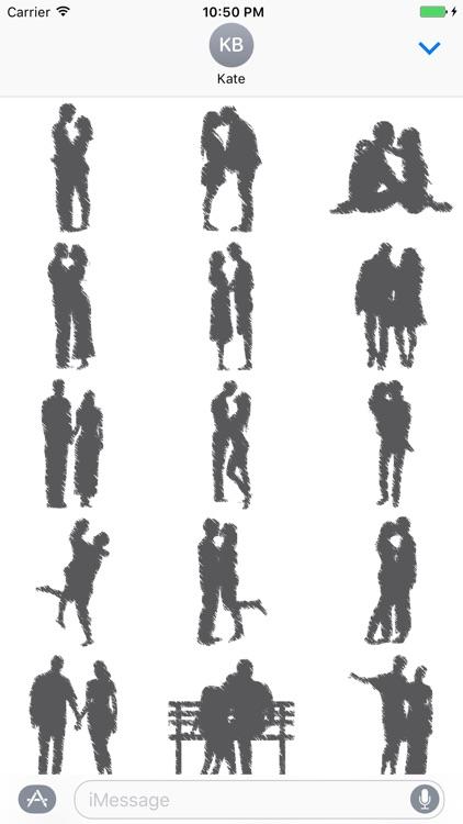 Memory of love - Fx Sticker