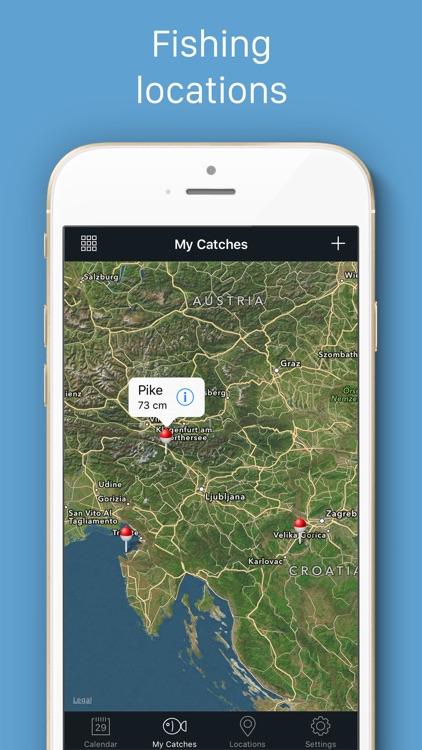 Fishing Calendar screenshot-3