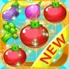 Charm Veggie Hero - New Best Magic Garden Match 3