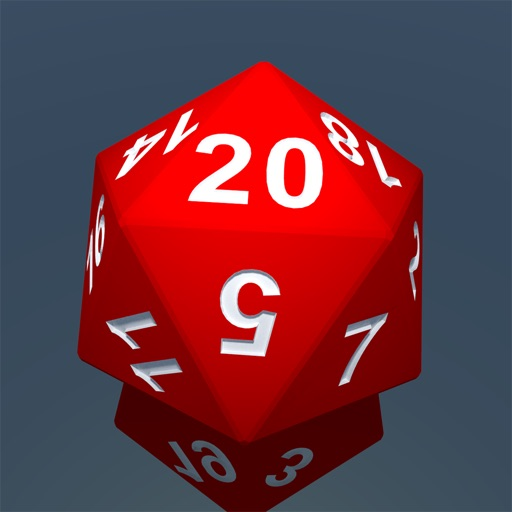 RPG D20 Role-Player Dice for iMessage