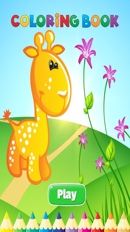 Animal Coloring Book - Activties Paint for Kids