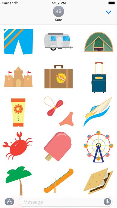 Super Stickies: SummerScreenshot of 1