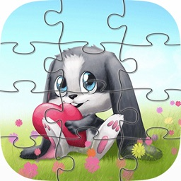 Animal Cartoon Jigsaw Puzzles for Kids and Toddler