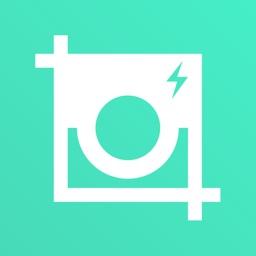 Square Quick - No Crop Photo Editor With Emojis