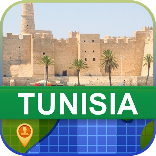 Offline Tunisia Map - World Offline Maps