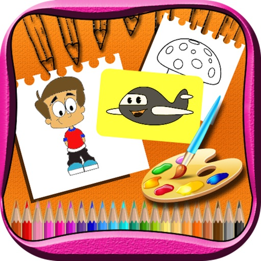 Coloring Book for kids & Adults icon