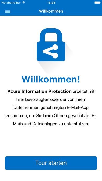 Azure Information ProtectionScreenshot von 1