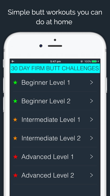 30 Day Firm Butt Challenge by 30 Day Fit Body