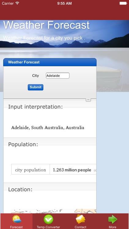 Weather Forecast App Free screenshot-3