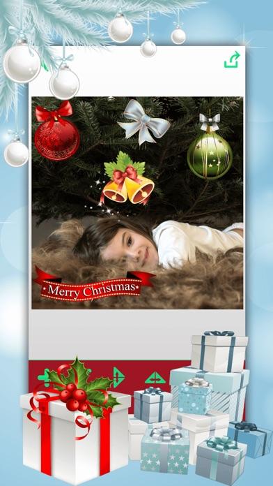 クリスマス・フォトブース – クリスマスステッカー写真編集ソフト紹介画像4