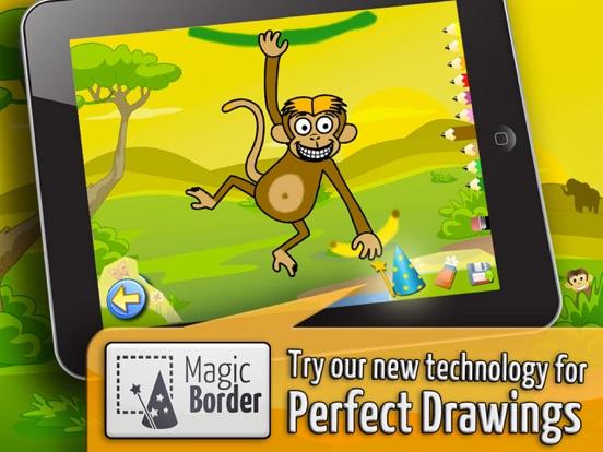 サバンナ:子供のためのパズルとカラー , 知育 ぱずる, 幼児 知育 無料 子ども向け ゲーム 無料のおすすめ画像3