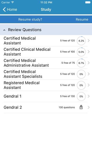 Saunders Medical Assisting Exam Prep app image