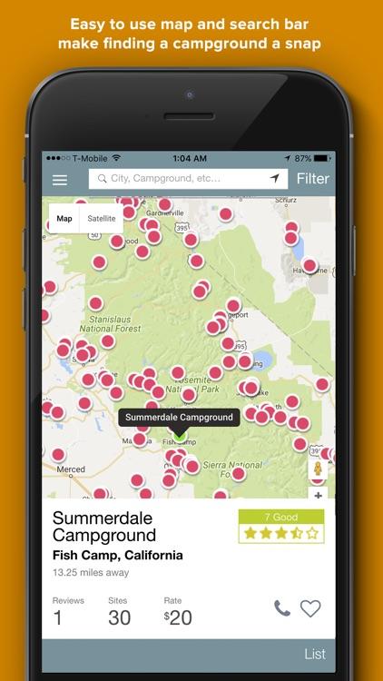 RV Park and Campground Reviews screenshot-3