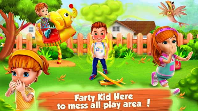 Farty party kids babysitter on the app store screenshots voltagebd Gallery