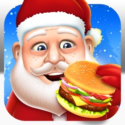Santa Food Maker Cooking Kid Games (Girl Boy)