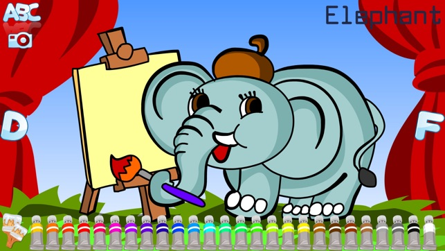 ABC Coloring Book on the App Store
