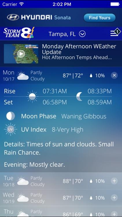 Storm Team 8 - WFLA - Weather Max - Tampa screenshot-4