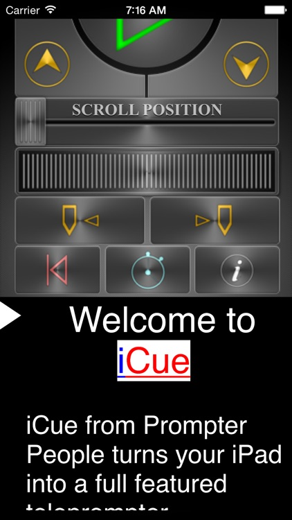 iCue Remote by Sunshine Valley Systems