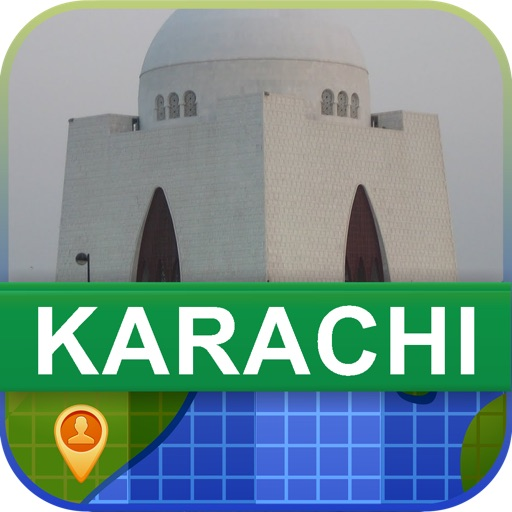 Offline Karachi, Pakistan Map - World Offline Maps icon