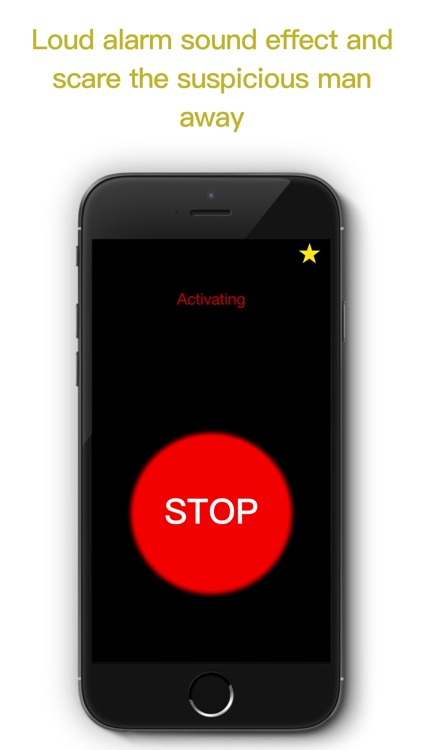 ScareHimAway - Personal Safety Alarm App