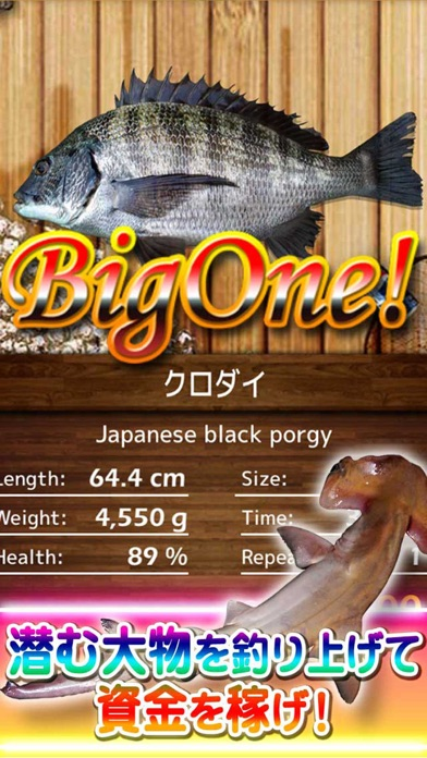 BigOne! ワールドツアーフィッシングのスクリーンショット5