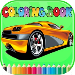 luxury Car Coloring Book - Activities for Kids