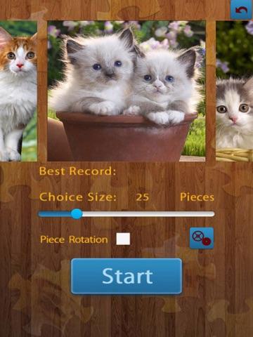 猫のジグソー パズルのおすすめ画像1