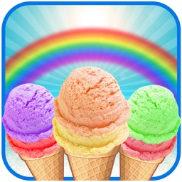 Rainbow Ice Cream Maker - Make Colorful Icecream