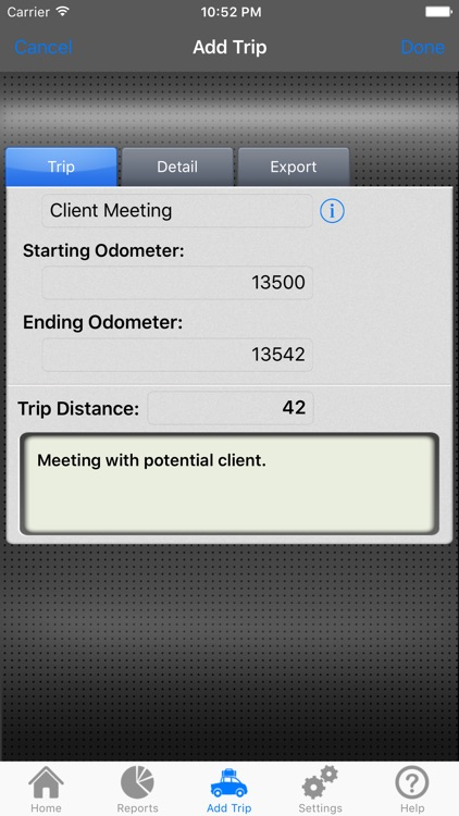 FYI Mileage screenshot-1