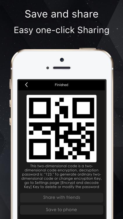 SecureQR Free-Encrypted qr code reader & Generator