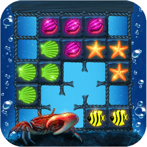 Block Puzzle: Ocean style,Popping bubbles