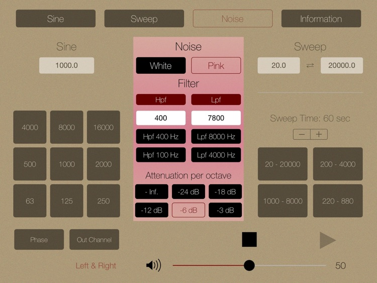 Audio Tone Generator for iPad screenshot-3