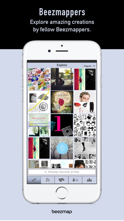 Beezmap - Group Collage Maker and Social Platform screenshot-3