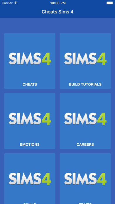 Cheats for Sims 4 (Cheat codes & Guides) by Zakaria Ajaboud (iOS