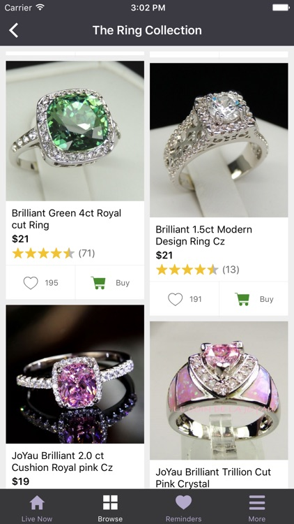 Ruby - Jewelry Shopping Deals