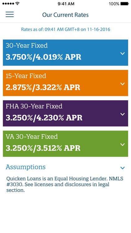 Mortgage Calculator by Quicken Loans screenshot-4