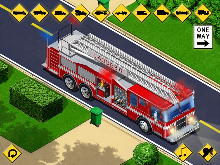 Kids Vehicles: City Trucks & Buses HD for the iPad screenshot-3
