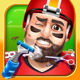 Kids Sports Shave Salon Games