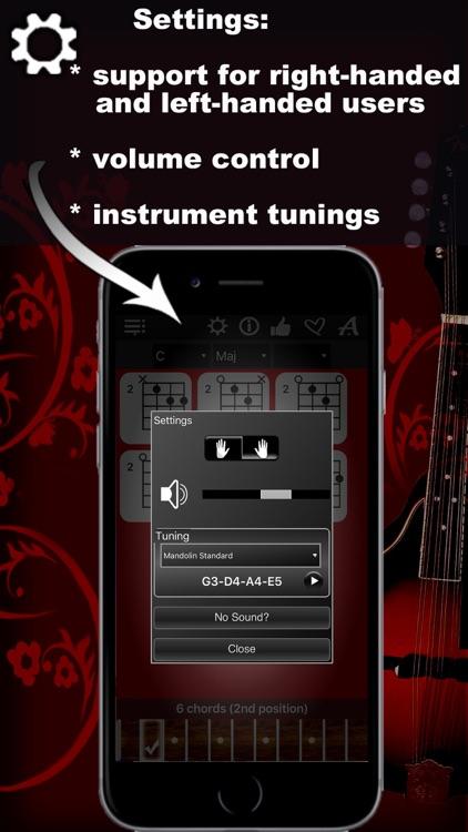 Mandolin Chords Compass: learn the chord charts screenshot-4
