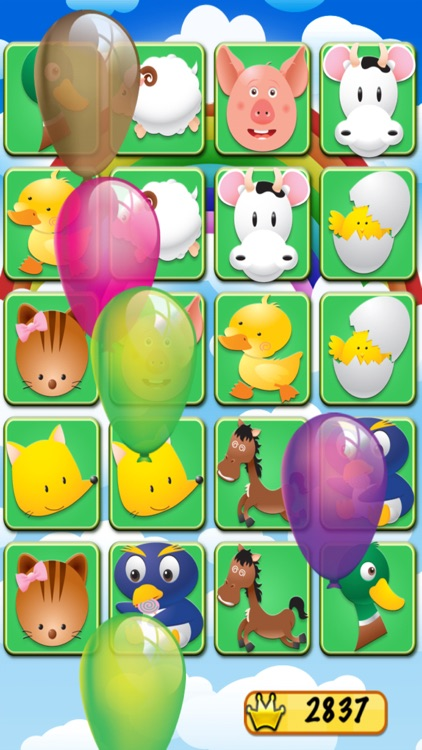 Farm Match for Kids - Animal Matching Games
