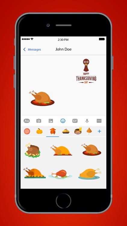 Thanksgiving Emoji Pro screenshot-3