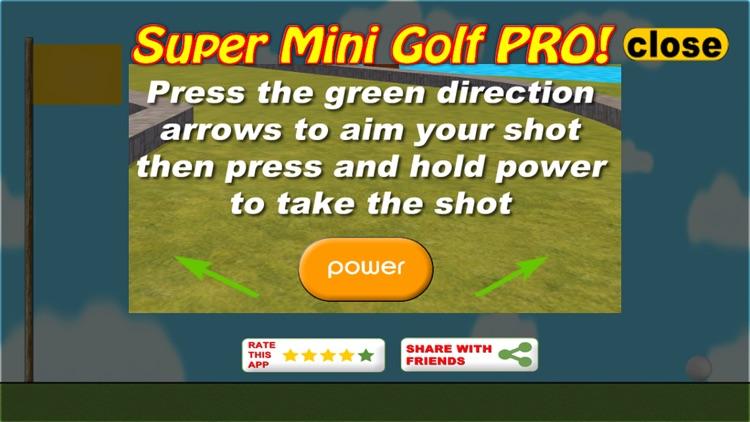 Super Mini Golf Pro screenshot-3