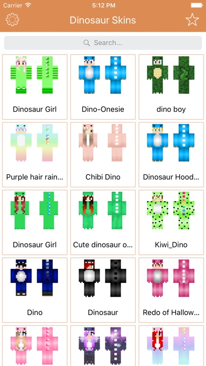 New Dinosaur Skins for Minecraft PE & PC Edition