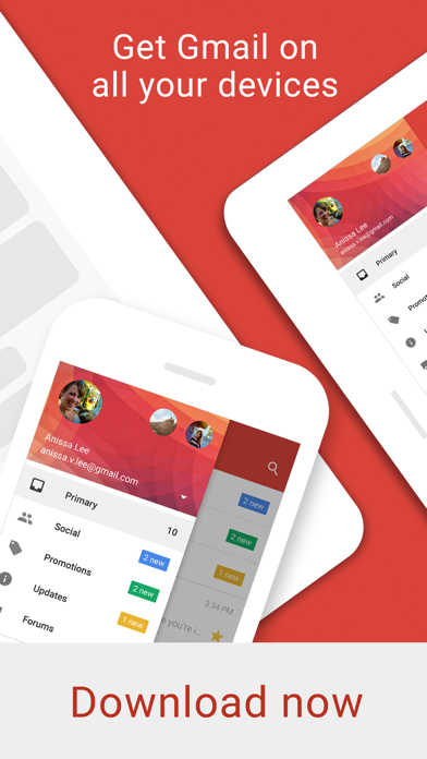 Screenshot 4 for GMail's iPhone app'